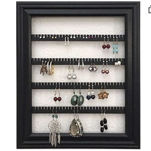 NEW Earring Organizer – Wall Mounted Picture Frame